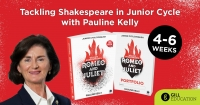 WEBINAR - Tackling Shakespeare in Junior Cycle with Pauline Kelly